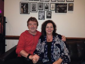Peter & Jennifer at Arthur Findlay School of Psychic Studies in the U.K. 2013