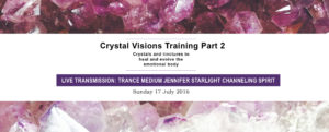 Crystal Visions Training Part 2 Announced