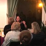 MIN at the Glasgow Theosophical society talking the Language of the Soul